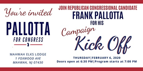 Pallotta for Congress Campaign Kickoff tickets
