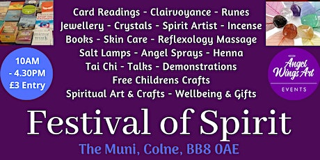 Festival of Spirit Spring 2020 tickets