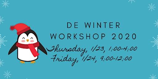 DE Winter Workshop 2020
