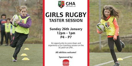GHA Girls Rugby - Taster Session tickets
