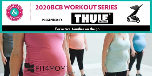 FREE BCB Prenatal Workout with Fit4Mom Presented by Thule! (Lithia, FL)