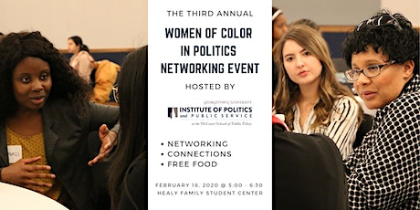 Women of Color in Politics Networking Event tickets