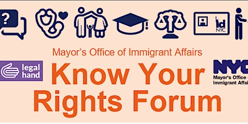 MOIA Know Your Rights Forum - Legal Hand Tremont