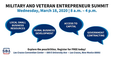SBA Military and Veteran Entrepreneur Summit tickets
