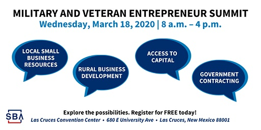 SBA Military and Veteran Entrepreneur Summit
