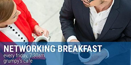 Networking Breakfast tickets