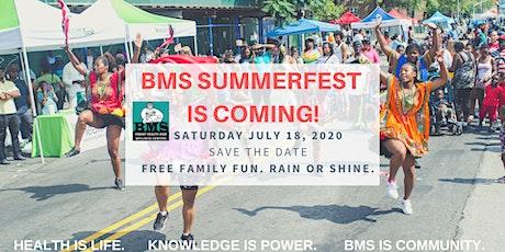 BMS Summerfest 2020 VENDOR REGISTRATION tickets