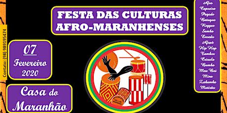 Afro De Mesa - Festa das Culturas Afro-Maranhenses ingressos