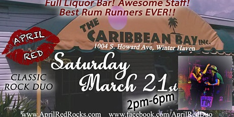 April Red ROCKS The Tiki at Caribbean Bay! tickets