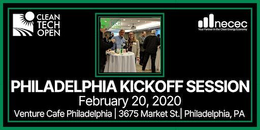 2020 Cleantech Open Philadelphia Kickoff Session