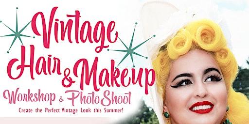 ORLANDO - Vintage Hair & Makeup Workshop/Photo shoot