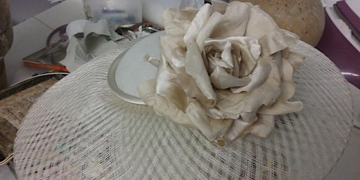 Millinery Workshops for Advanced   Basket-weave Brims and Crowns on the Bias