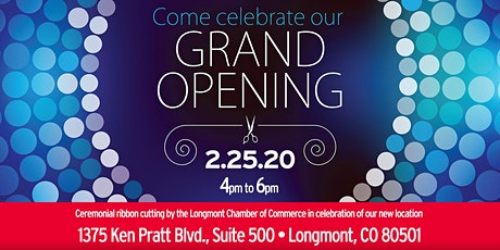 Heritage Title's Longmont Office Ribbon Cutting/Open House tickets
