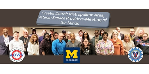 Detroit Metropolitan Area, Veteran Support Personnel, Winter 2020, Meeting of the Minds