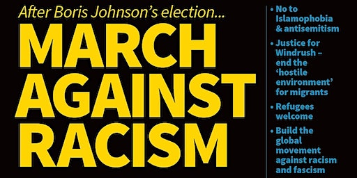 Cambridge Coach To UN Anti-Racism Day March