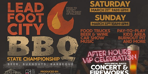 Lead Foot City BBQ State Championship - BEER, BURNOUTS & BARBECUE