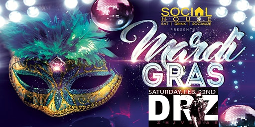 Mardi Gras at Social House Soulard 2020