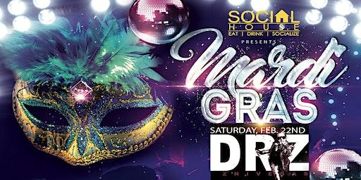 Mardi Gras at Social House Soulard 2020