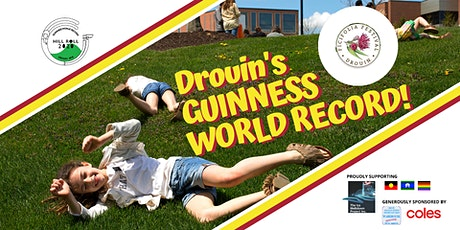 Guinness World Record Drouin 2020 tickets