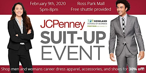 "Rowland School of Business ""Suit-Up"" Event"