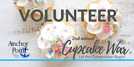 2020 Cupcake War - Volunteers tickets