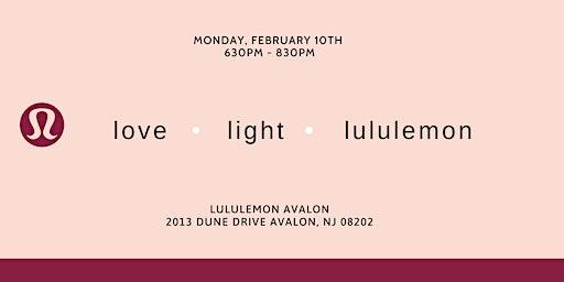 Love, light and lululemon