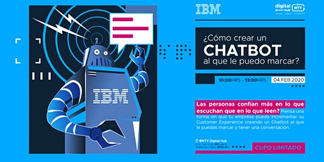 ¿Cómo crear un chatbot al que le puedo marcar? - Powered by IBM tickets