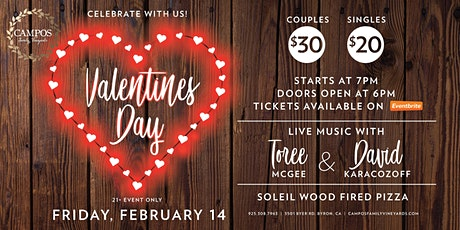 Valentine's Day with Toree McGee and David Karacozoff! tickets