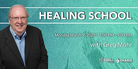 Healing School Toronto with Greg Mohr tickets