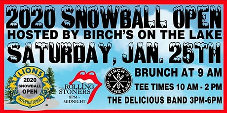 33rd Annual Snowball Open on Long Lake tickets