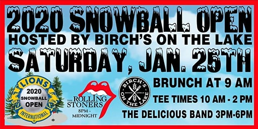 33rd Annual Snowball Open on Long Lake