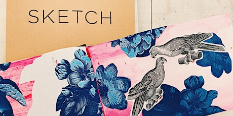 Develop Your Sketchbook Demo + Workshop: Ink & Collage tickets