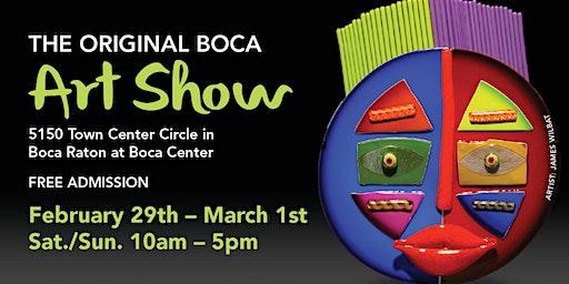 Original Boca Art Show at Boca Center