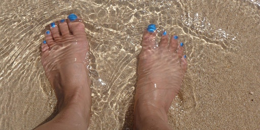 Women's Wealth Wednesdays: Head in the Sand or Toes in the Sand?