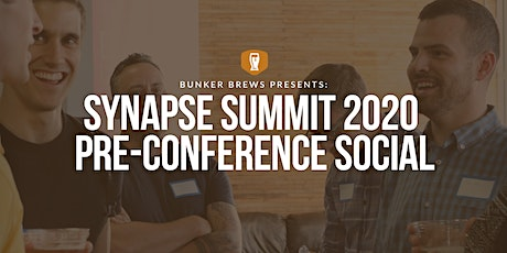 Bunker Brews Tampa: Presents Synapse Summit 2020 Pre-Conference Social tickets