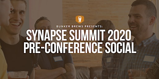 Bunker Brews Tampa: Presents Synapse Summit 2020 Pre-Conference Social