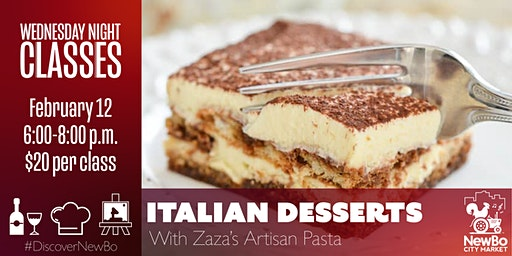 Wednesday Class: Italian Desserts