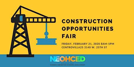 Construction Opportunities Fair tickets