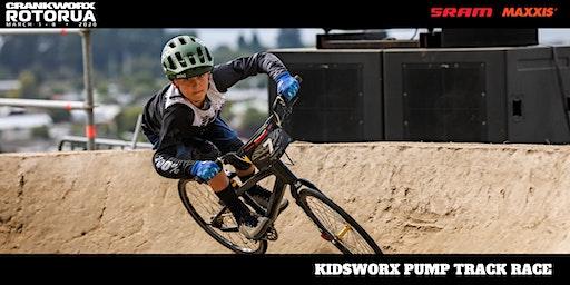 Kidsworx Pump Track Race - Crankworx Rotorua 2020