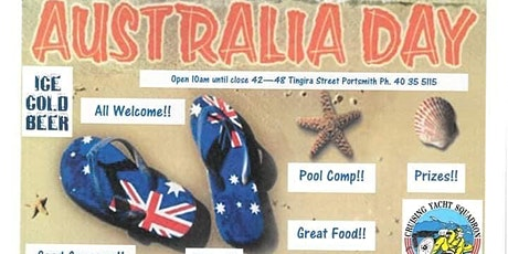 Aussie Day Celebrations! tickets
