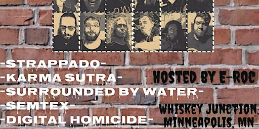 *Whiskey Junction* Digital Homicide, Semtex, Surrounded By Water, and more!