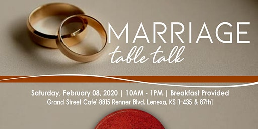 Marriage Table Talk
