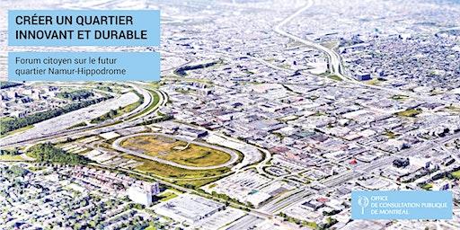 Forum citoyen Namur-Hippodrome | Créer un quartier innovant et durable