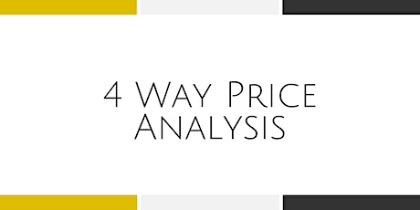 4 Way Price Analysis - Stafford tickets