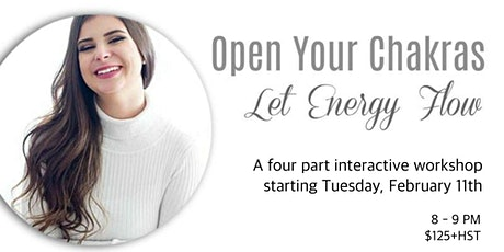 Open Your Chakras - Let Energy Flow tickets