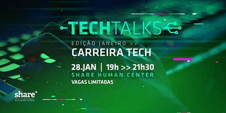 Tech Talks: Carreira Tech ingressos