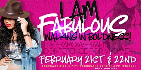 I am Fabulous Women's Empowerment Conference 2020 tickets