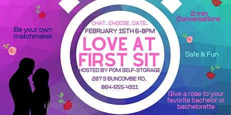 LOVE AT FIRST SIT tickets