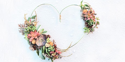 DIY Succulent Heart Centerpiece with The Sill x WestWind Succulents