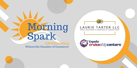 Morning Spark hosted by Laurie Tarter LLC & Expedia CruiseShipCenters tickets